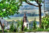 Hegyi-látkép-templom